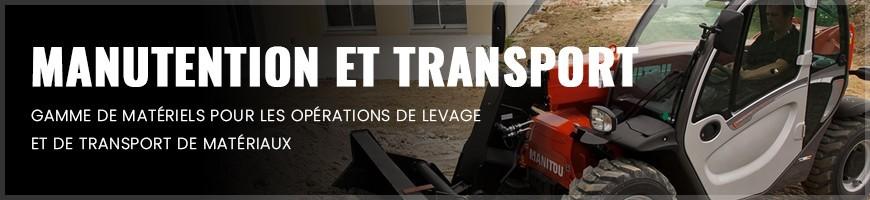 Manutention et transport : location matériel et outillage Normandie