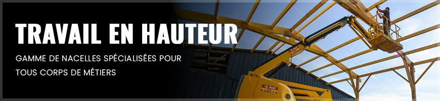 Travail en hauteur : location matériel et outillage Normandie