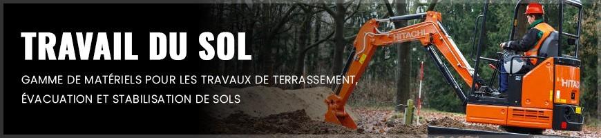 Travail du sol : location matériel et outillage Normandie