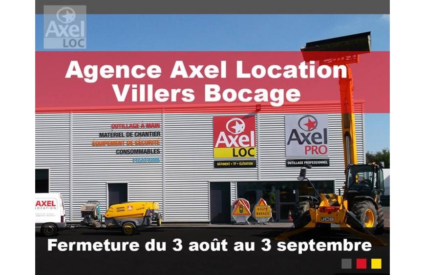Villers Bocage fermée pour les vacances